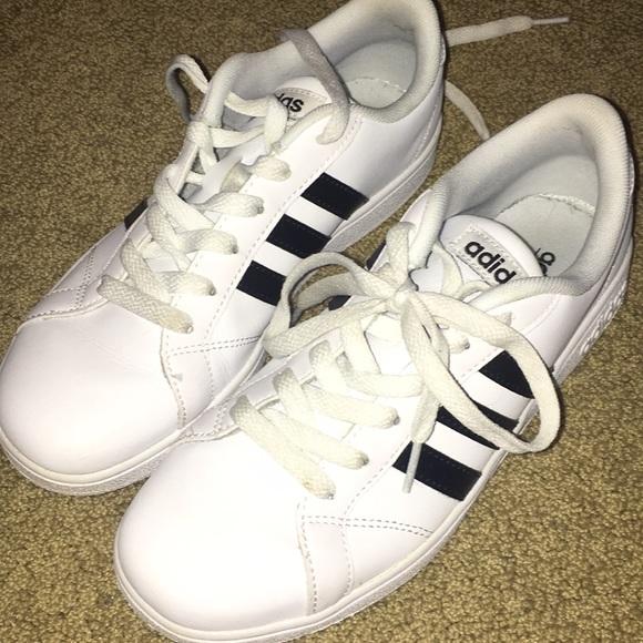 adidas scorpe bambini 4 indossato scarpe poshmark due neo